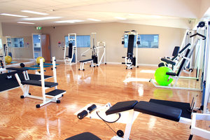 Heute keine Seltenheit - ein leeres Fitnessstudio