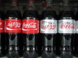Giftbombe: Coca Cola