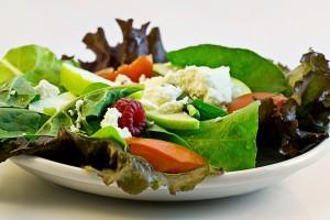 So sollte ein gesunder Salat aussehen.
