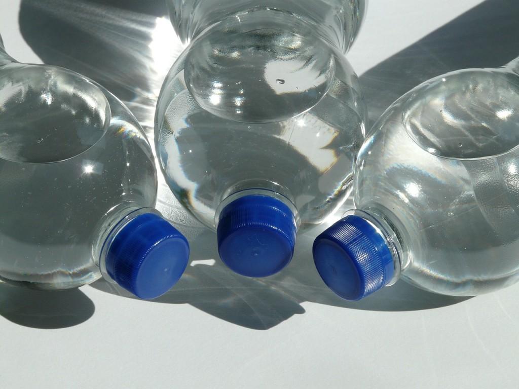 Wasserflaschen