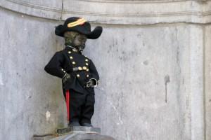 Urinierende Statue - Manneken Pis