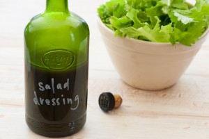 Selbstgemachtes Salatdressing: Top - Fettfreies Salatdressing: Flop